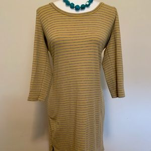 3 Dot Striped Dress